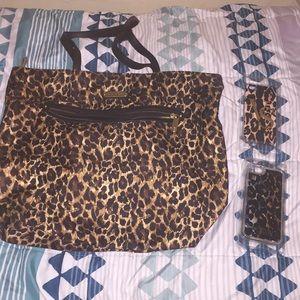 Victoria secret iPhone 6/6s & Iphone 5 case & bag